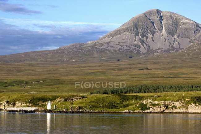 Горы сцены в Шотландии — стоковое фото