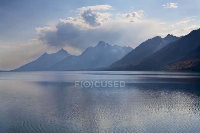 Jackson Lake, Parco nazionale Grand Teton — Foto stock