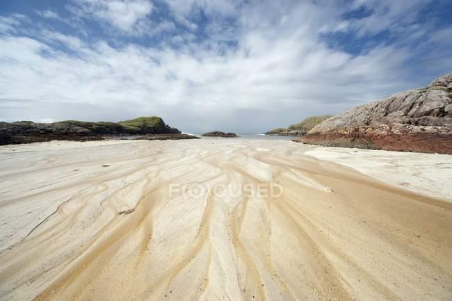 Sand, Island Of Iona, Scotland — Stock Photo