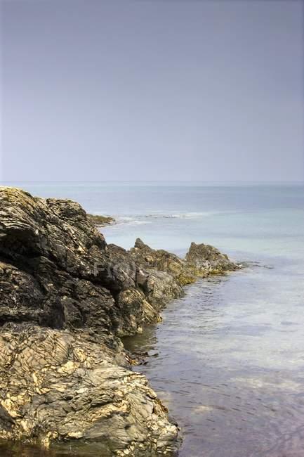 Скелястий берег, Colonsay — стокове фото