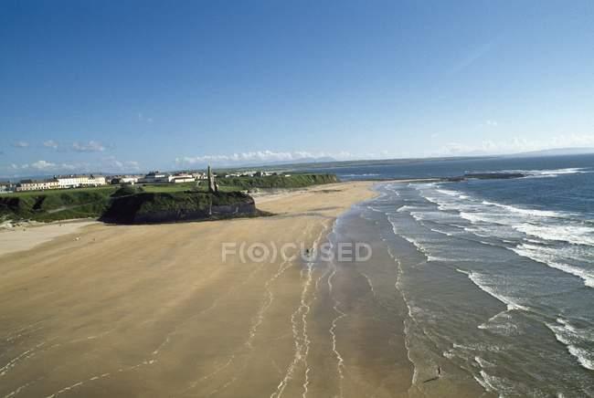 Ballybunnion und Castle Beach — Stockfoto