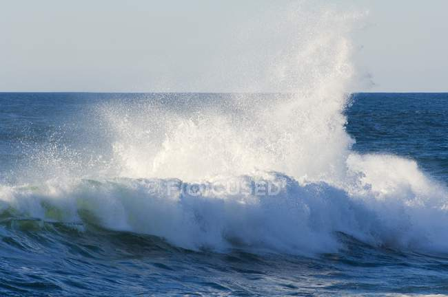 Fracas des vagues, Cape Kiwanda — Photo de stock