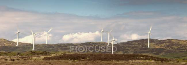 Wind Power, Dumfries And Galloway — Stock Photo
