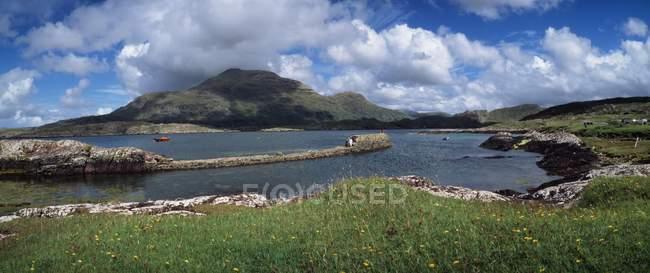 Ruhige See-Szene; Irland — Stockfoto