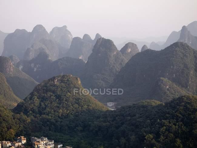 Yangshou Town, Guilin — Stock Photo