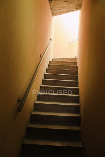 Steps Going From Dark — Stock Photo