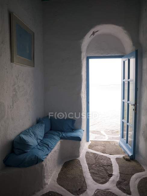 Doorway and interior — Stock Photo