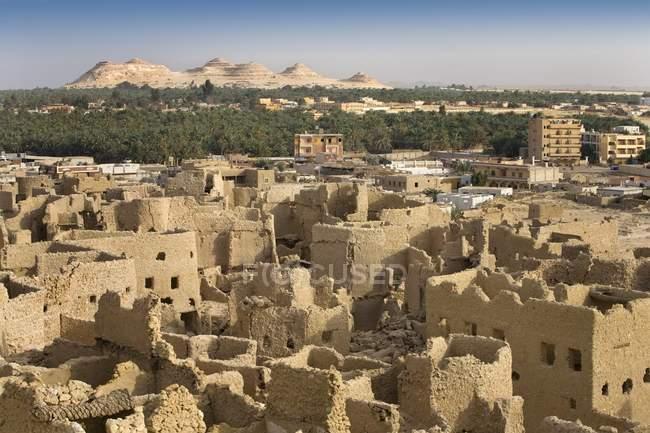 Fortezza di Shali, città di Siwa — Foto stock