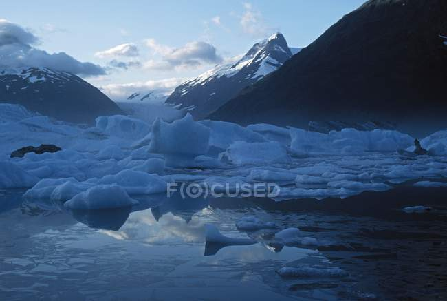 Айсберги, Portage озеро — стоковое фото
