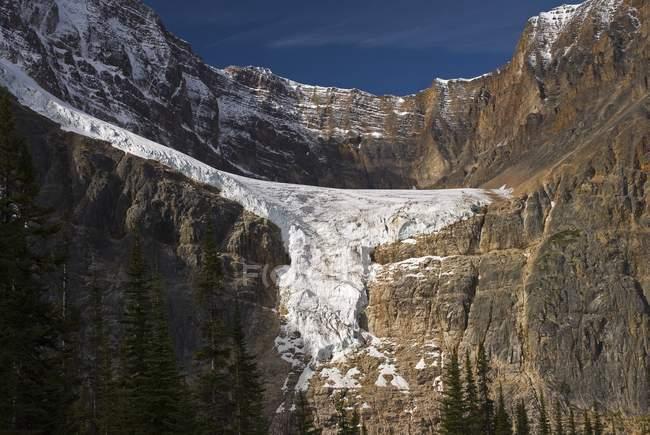 Ледник Ангел, Национальный парк Джаспера — стоковое фото