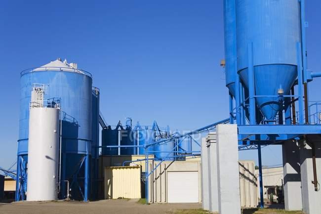 Cement Factory in North Dakota — Stock Photo