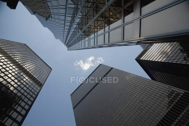 Top Of Highrise Buildings, Toronto — Stock Photo