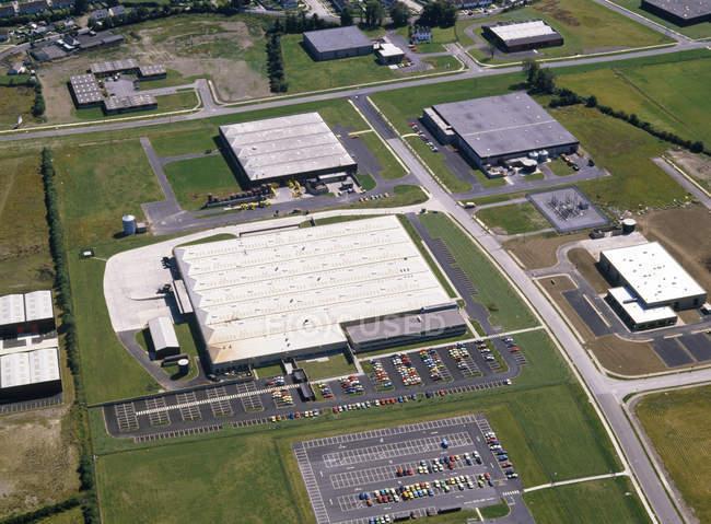 Clonshaugh Industrial Estate — Stock Photo