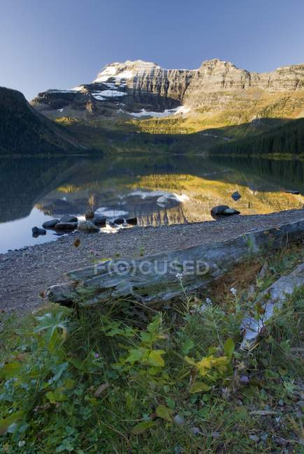 Cameron Lake, Alberta, Canada — Stock Photo