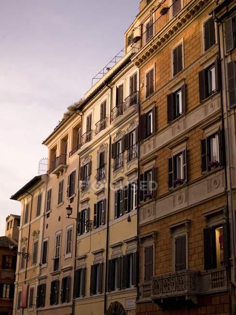 Apartments, Rome, Italy — Stock Photo