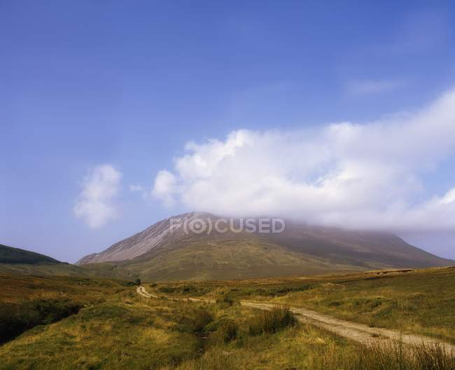 Scenic view of Crocknalaragagh — Stock Photo