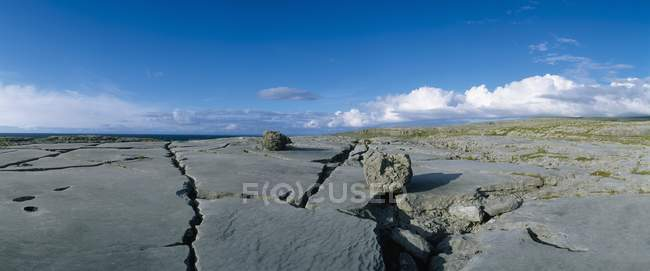 Limestone Landscape, The Burren — Stock Photo
