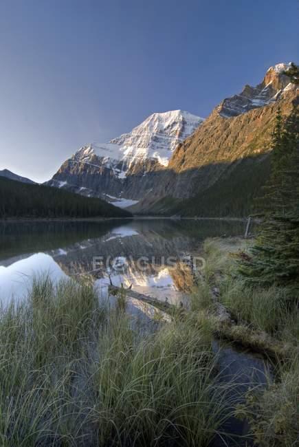 Monte Edith Cavell, Jasper National Park — Foto stock