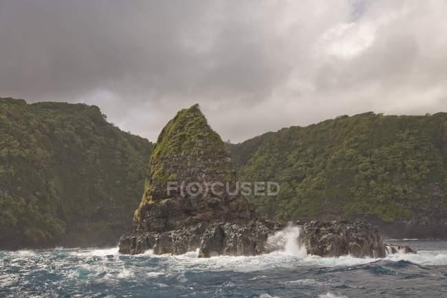 North East Shore de Maui - foto de stock