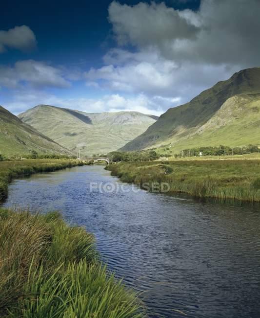 Mweelrea Mountains; Co Mayo — Foto stock