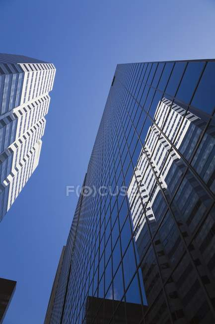 Bâtiments du centre-ville de Montréal — Photo de stock