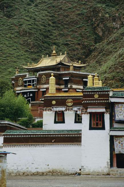 Labrang Monastery In Xiahe — Stock Photo