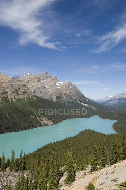 Peyto Lake, Banff National Park — Stock Photo