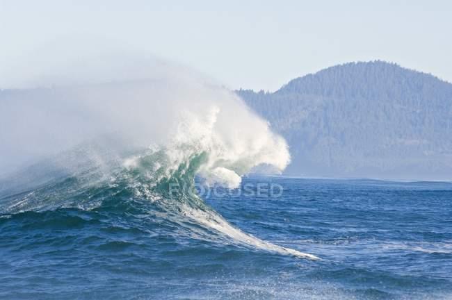 Rottura dell'onda, Capo Kiwanda — Foto stock