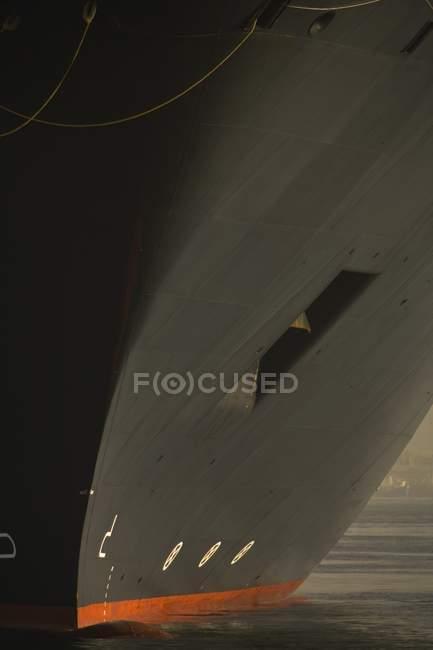 Cruise Ship partial image — Stock Photo