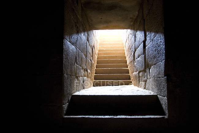 Гробниця Kaleb Axum — стокове фото