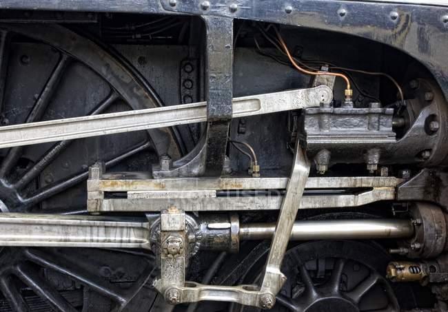 Nigel Gresley Steam Locomotive — Stock Photo