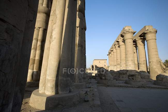 Luxor Temple during daytime — Stock Photo