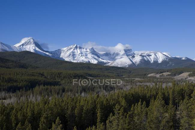 Kananaskis, Alberta, Canada; Mountain Range — Stock Photo