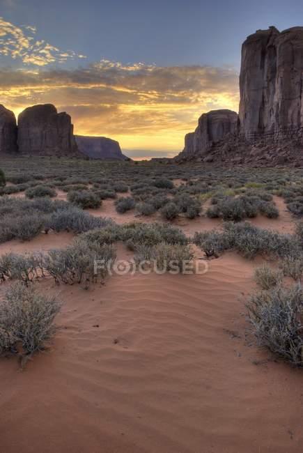 Kayenta, vale do monumento — Fotografia de Stock