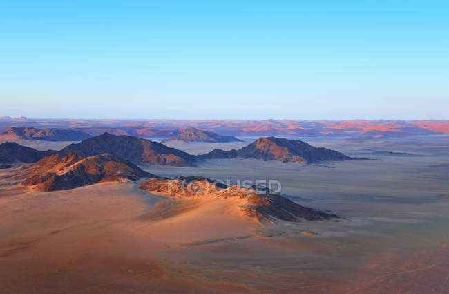 Dunes de sable du Namib-Naukluft Park — Photo de stock