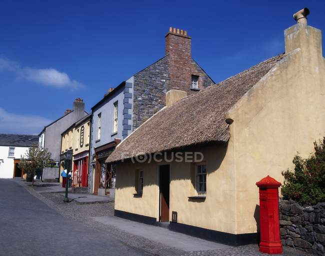 View of Houses In Ireland — Stock Photo