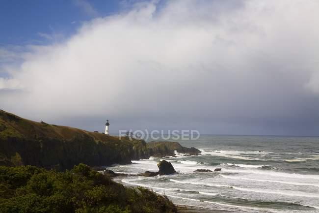 Yaquina Head Light, Oregon Küste — Stockfoto