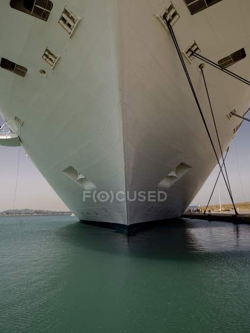 Ships Hull over sea — Stock Photo