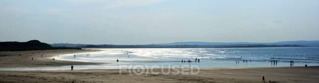 Co Слайго, Ірландія; Enniscrone пляж — стокове фото