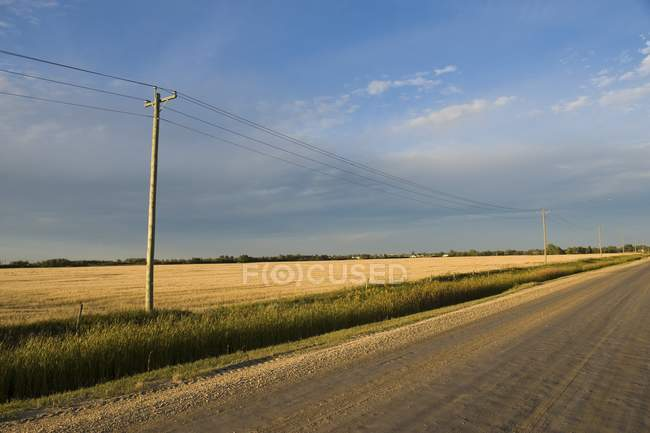 Country Road, Canada — Stock Photo