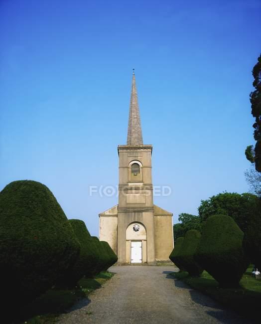 Iglesia Coolbanagher, Irlanda - foto de stock
