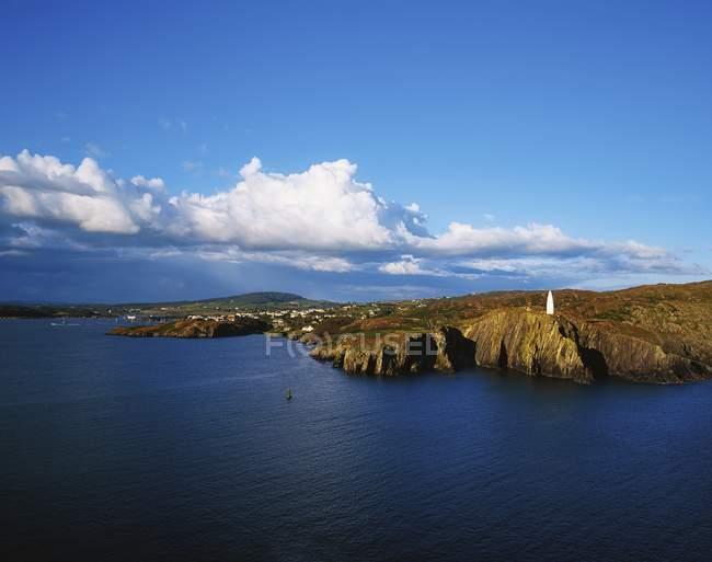 Cliffs Of Ireland From Atlantic Ocean — Stock Photo