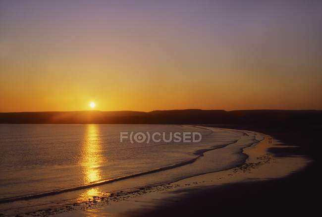 Sunset at Lahinch — Stock Photo