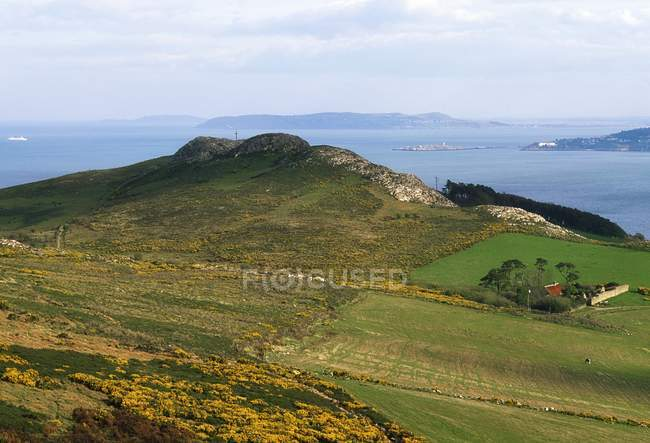 Vista panoramica di Bray Head — Foto stock