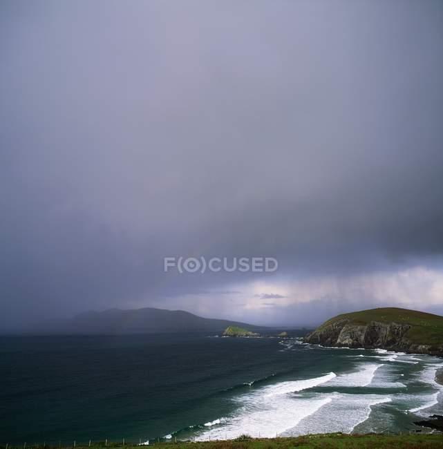 Landscape of Dunmore Head — Stock Photo