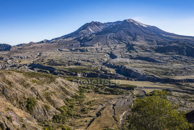 Vista panoramica di bellissime montagne paesaggio — Foto stock