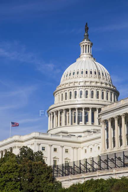 United States Capitol Building, Washington DC, United States of America — стокове фото