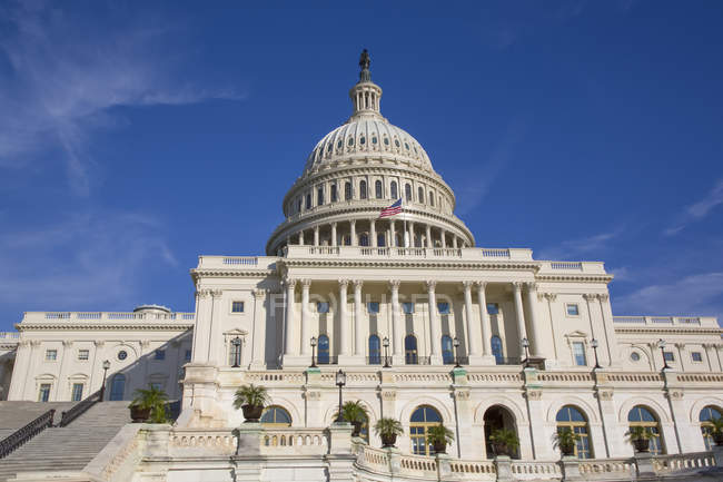 United States Capitol Building, Washington D.C., United States of America — Stock Photo