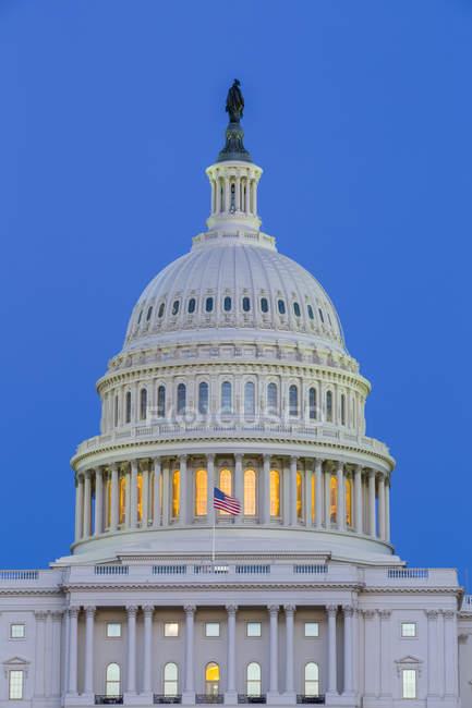 Здание Капитолия США, Вашингтон, США — стоковое фото