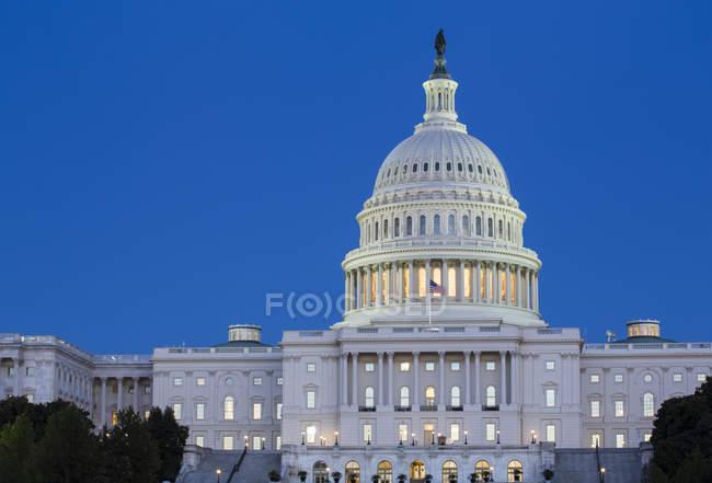 Estados Unidos da América Capitol Building, Washington D.C., Estados Unidos da América — Fotografia de Stock
